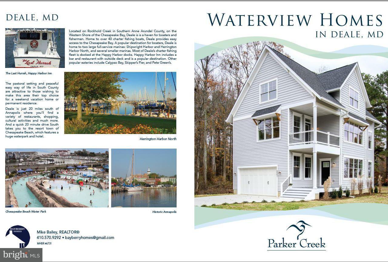 独户住宅 为 销售 在 1003 Deale Beach Road 1003 Deale Beach Road Deale, 马里兰州 20751 美国