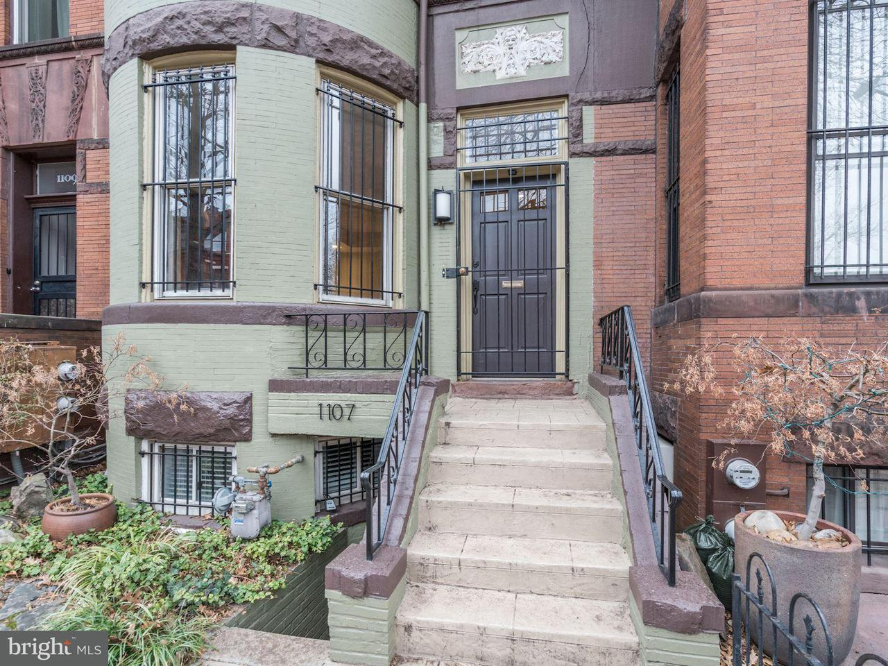 Single Family for Sale at 1107 P St NW Washington, District Of Columbia 20005 United States
