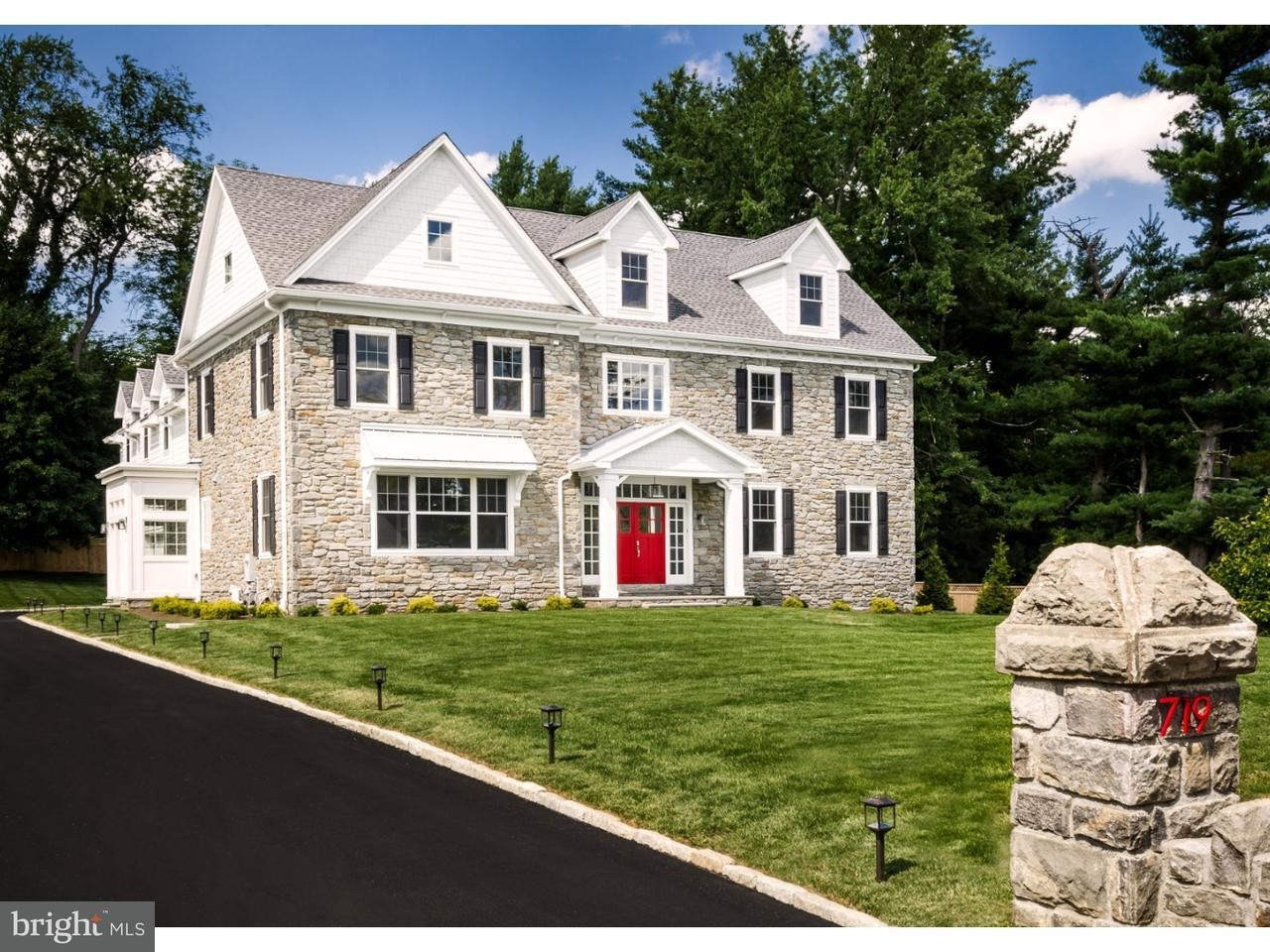 Casa Unifamiliar por un Venta en 719 CONSHOHOCKEN STATE Road Penn Valley, Pennsylvania 19072 Estados Unidos