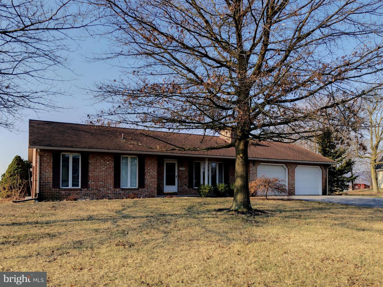 Single Family for Sale at 6358 Orrstown Rd Pleasant Hall, Pennsylvania 17246 United States