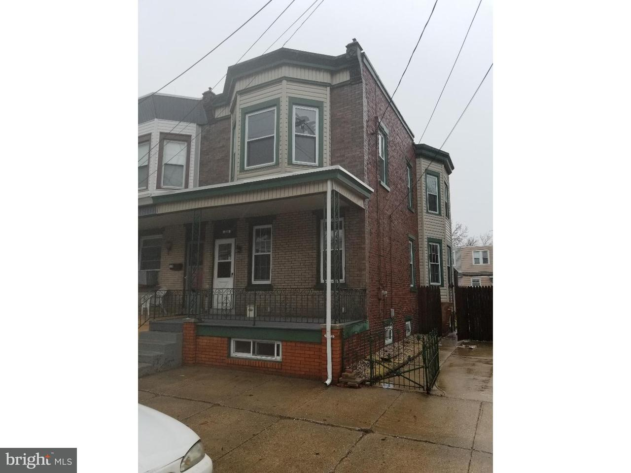 Townhouse for Rent at 324 HUDSON Street Gloucester City, New Jersey 08030 United States