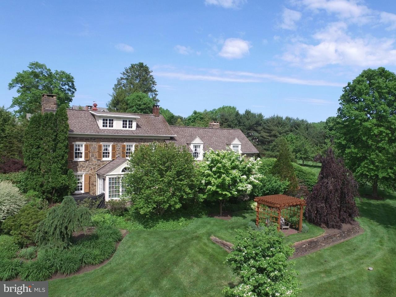 Частный односемейный дом для того Продажа на 937 MACCLESFIELD Road Furlong, Пенсильвания 18925 Соединенные Штаты