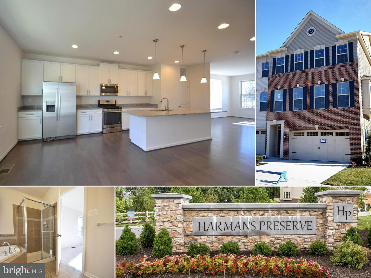 Townhouse for Sale at 237 Mill Crossing Ct #Lot 18 237 Mill Crossing Ct #Lot 18 Harmans, Maryland 21077 United States
