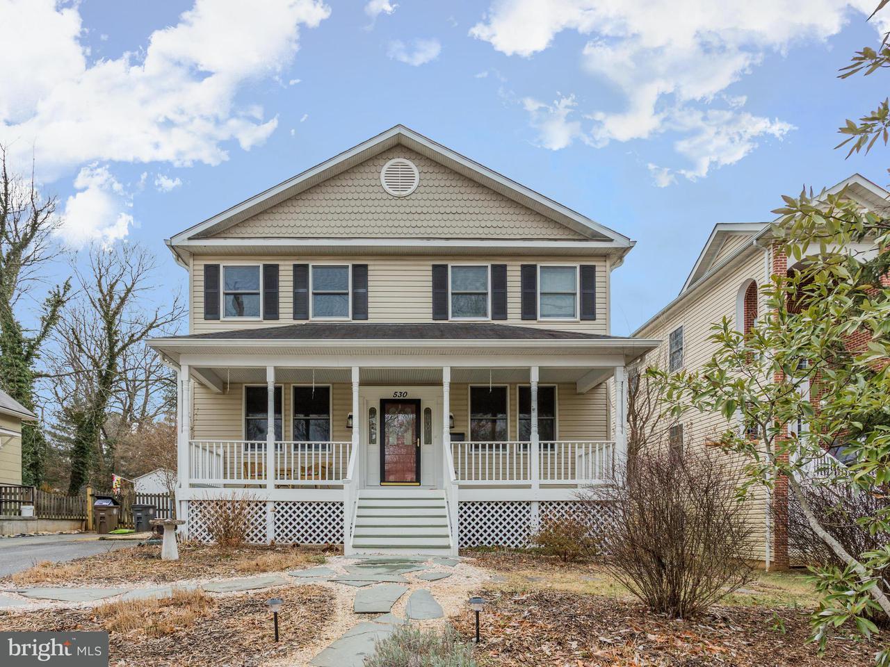 단독 가정 주택 용 매매 에 530 Beall Avenue 530 Beall Avenue Rockville, 메릴랜드 20850 미국