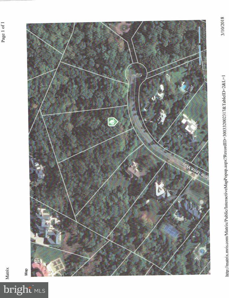 Terrain pour l Vente à 9324 Belle Terre Way 9324 Belle Terre Way Potomac, Maryland 20854 États-Unis