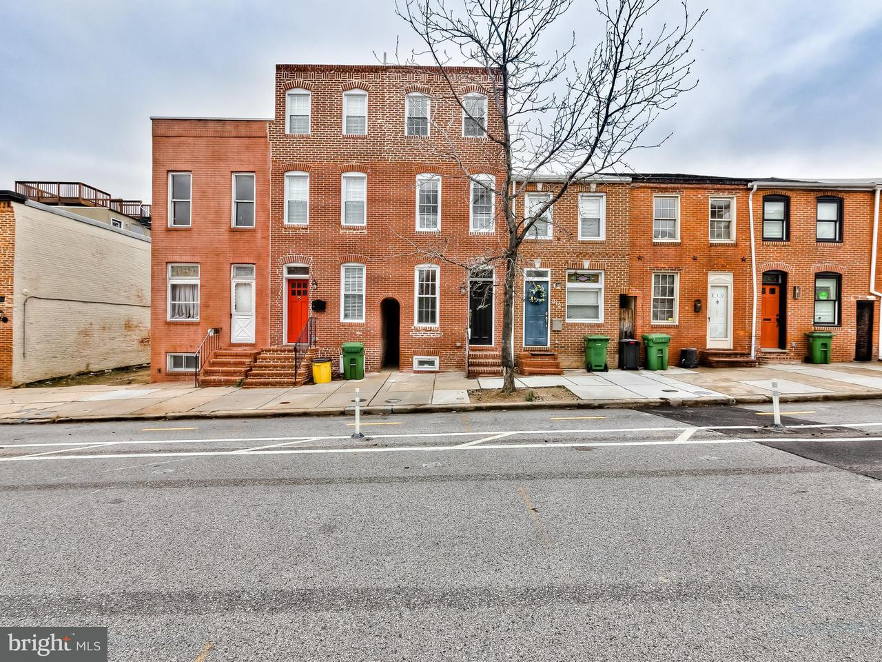 Photo of home for sale at 814 Potomac Street S, Baltimore MD