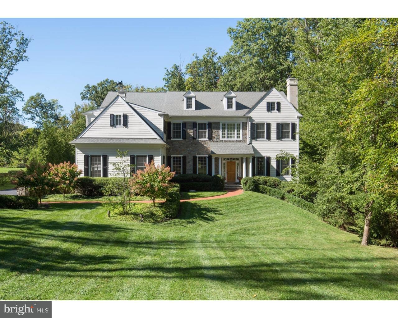 Enfamiljshus för Försäljning vid 1633 MAPLE Avenue Tredyffrin, Pennsylvania 19301 Usa
