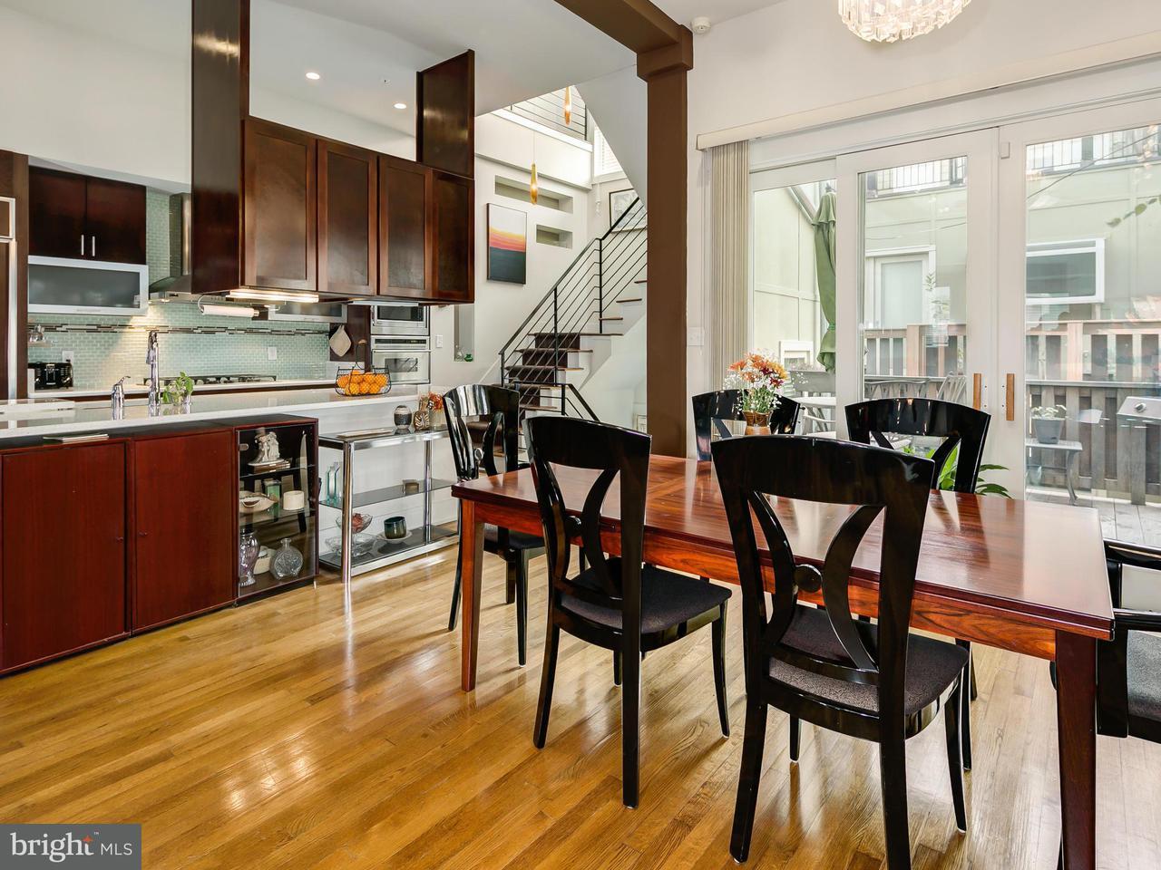 独户住宅 为 销售 在 1217 10th St Nw #C 1217 10th St Nw #C 华盛顿市, 哥伦比亚特区 20001 美国