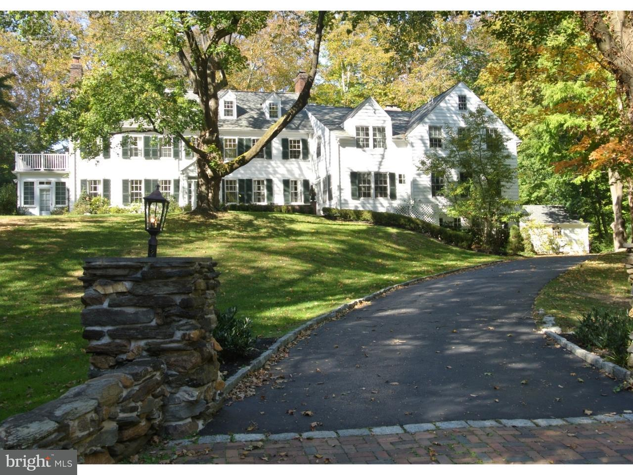 Частный односемейный дом для того Продажа на 230 ROSE Lane Haverford, Пенсильвания 19041 Соединенные Штаты