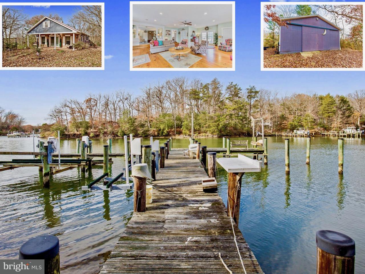 Single Family Home for Sale at 525 Garner Road 525 Garner Road Lusby, Maryland 20657 United States