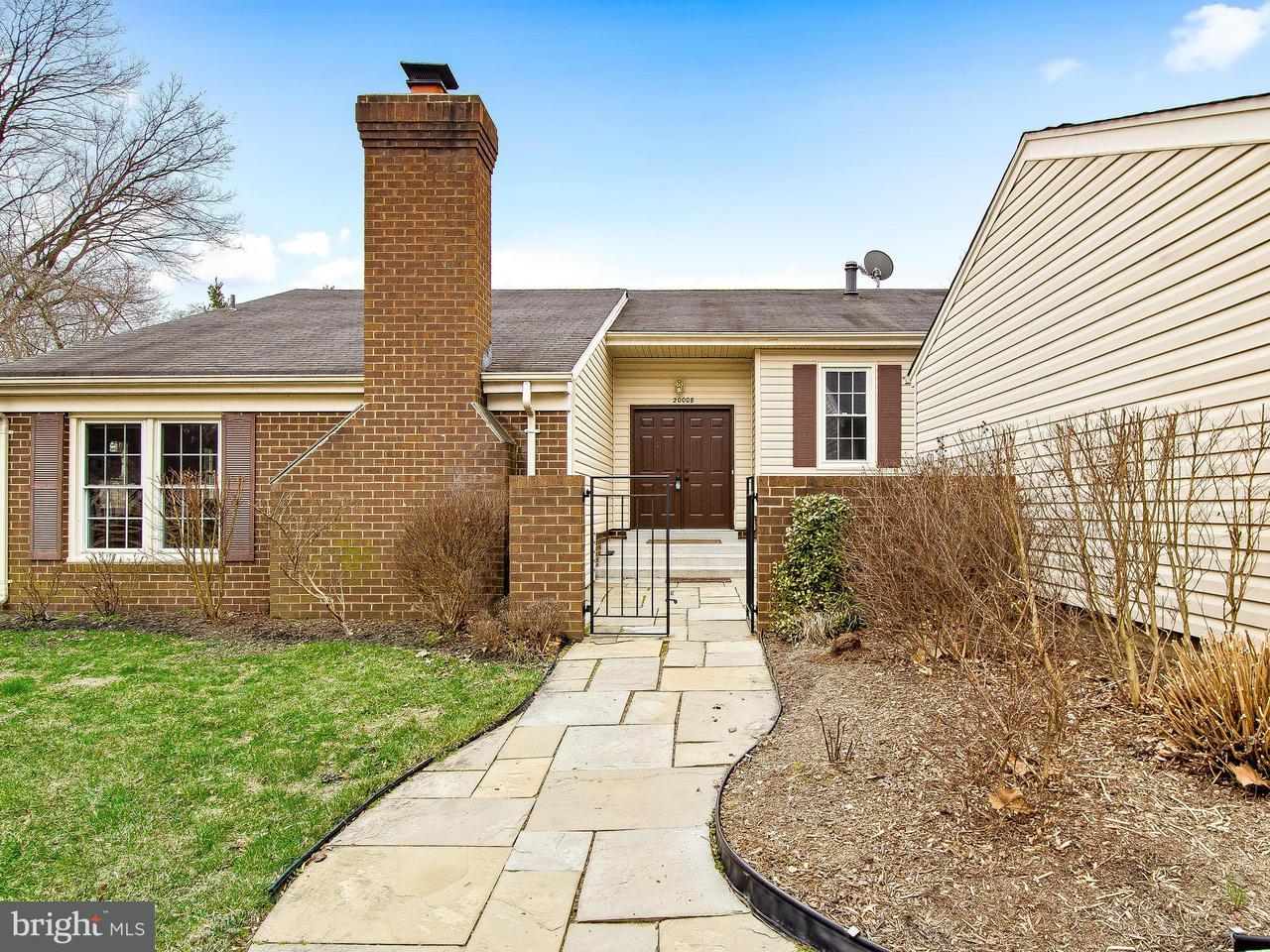 Maison unifamiliale pour l Vente à 20008 Octavia Court 20008 Octavia Court Montgomery Village, Maryland 20886 États-Unis