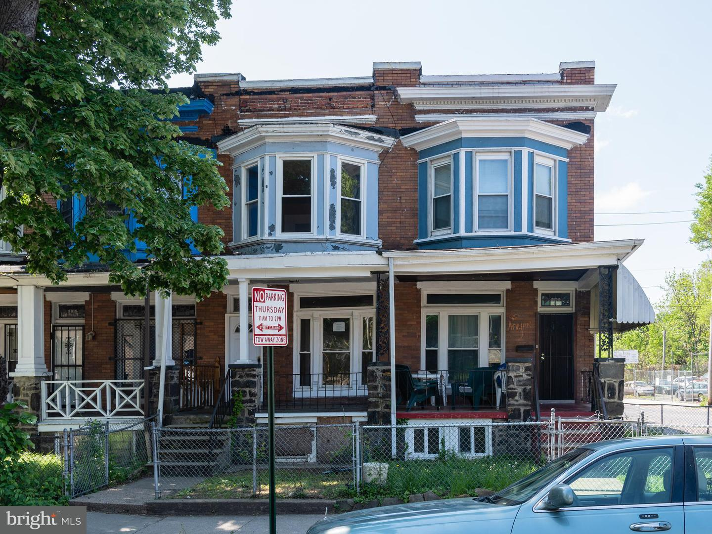 Single Family for Sale at 2917 Belmont Ave Baltimore, Maryland 21216 United States