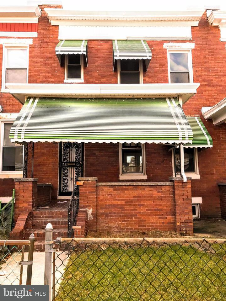 Single Family for Sale at 1613 31st St Baltimore, Maryland 21218 United States