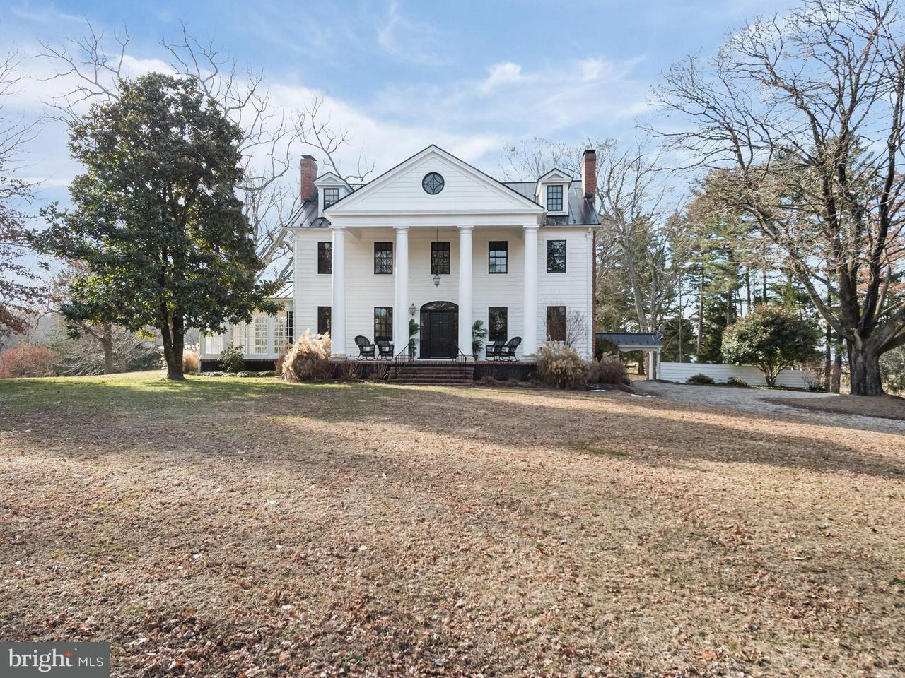 Single Family Home for Sale at 201 Weston Farm Road 201 Weston Farm Road Harwood, Maryland 20776 United States