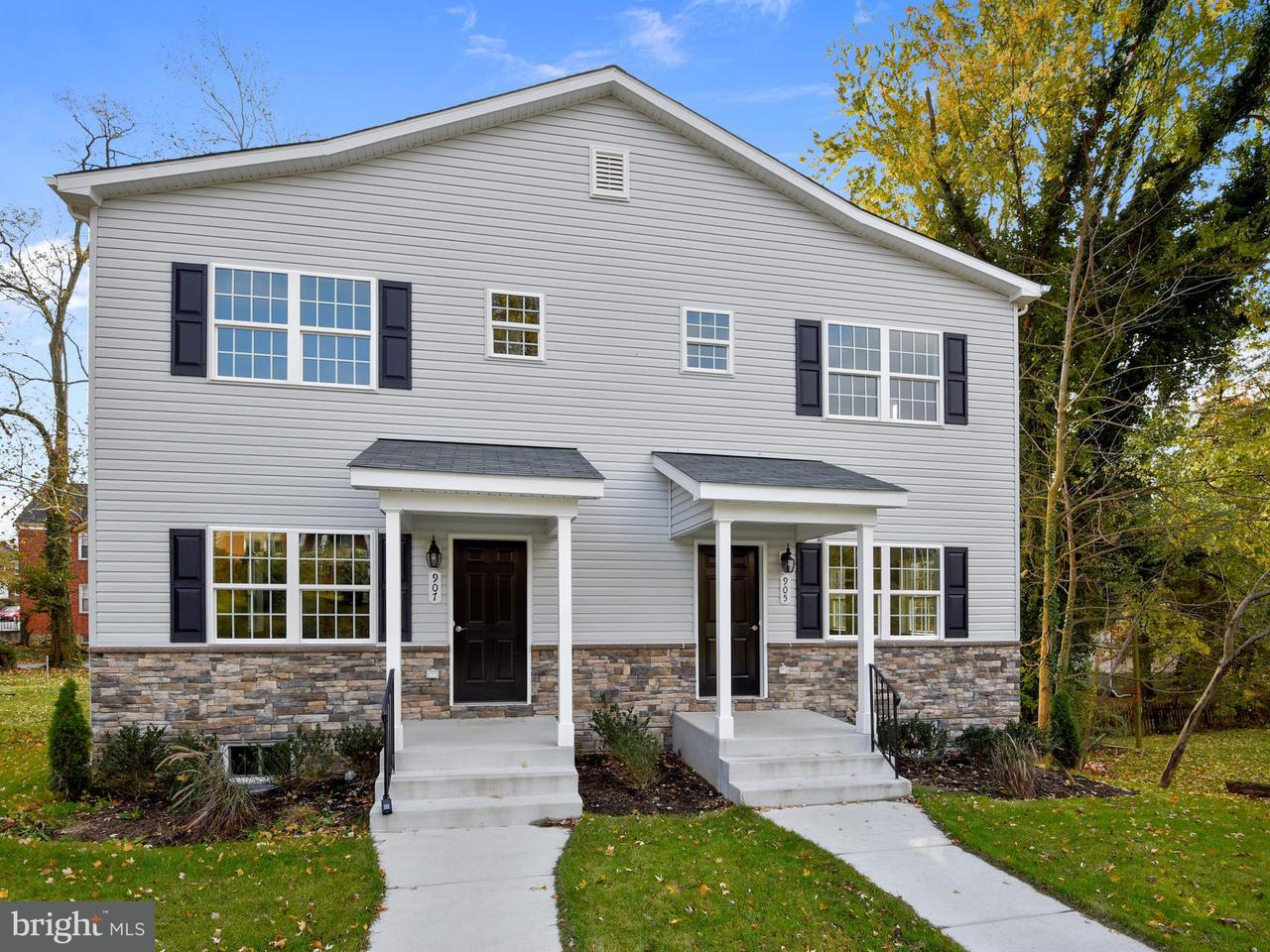Single Family for Sale at 905 Cedarcroft Rd Baltimore, Maryland 21212 United States