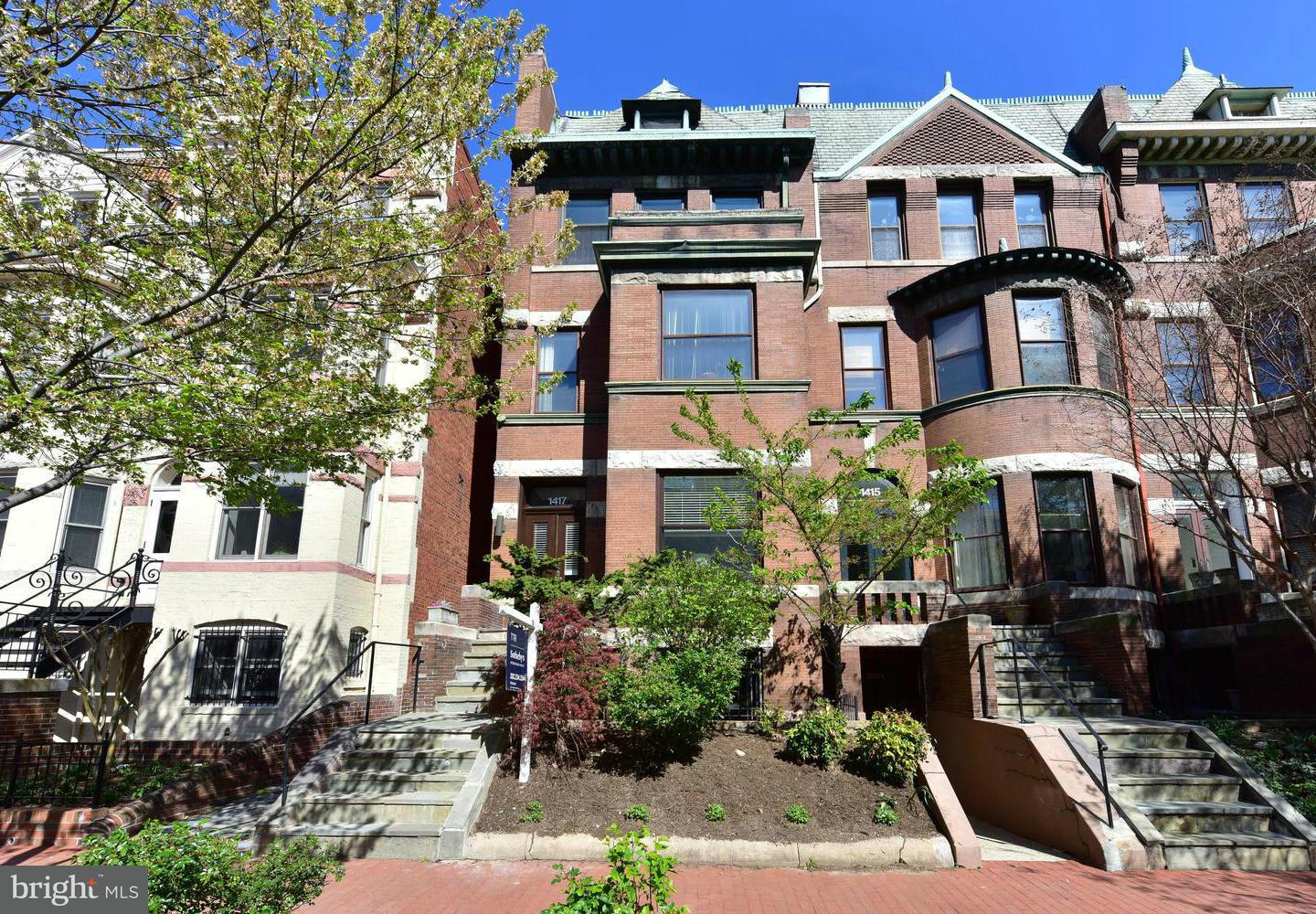 Single Family for Sale at 1417 21st St NW #a Washington, District Of Columbia 20036 United States