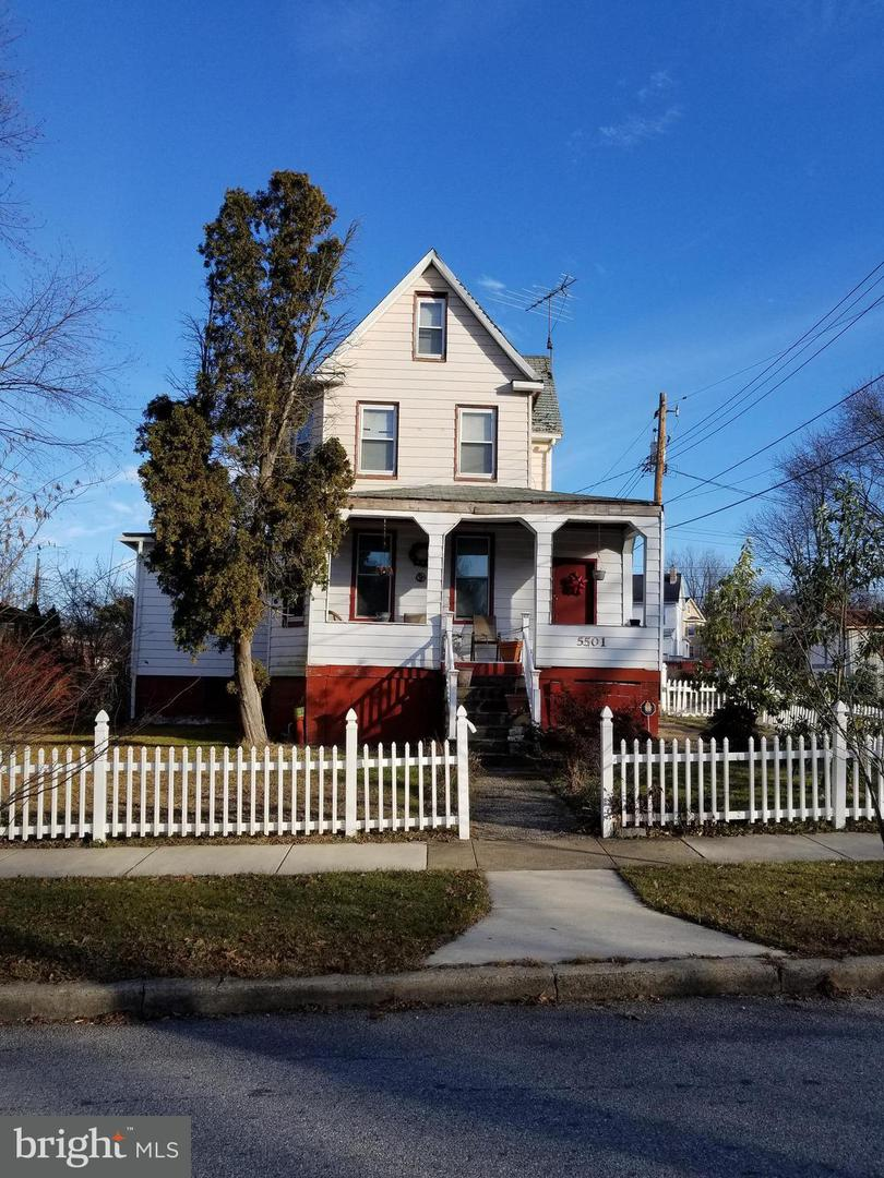 Single Family for Sale at 5501 Fair Oaks Ave Baltimore, Maryland 21214 United States