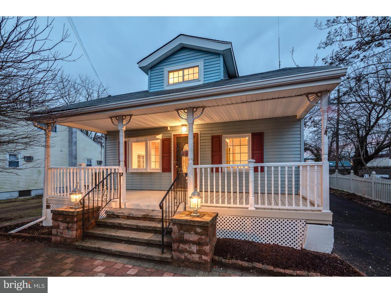 Частный односемейный дом для того Продажа на 810 PATTERSON Avenue Croydon, Пенсильвания 19021 Соединенные Штаты