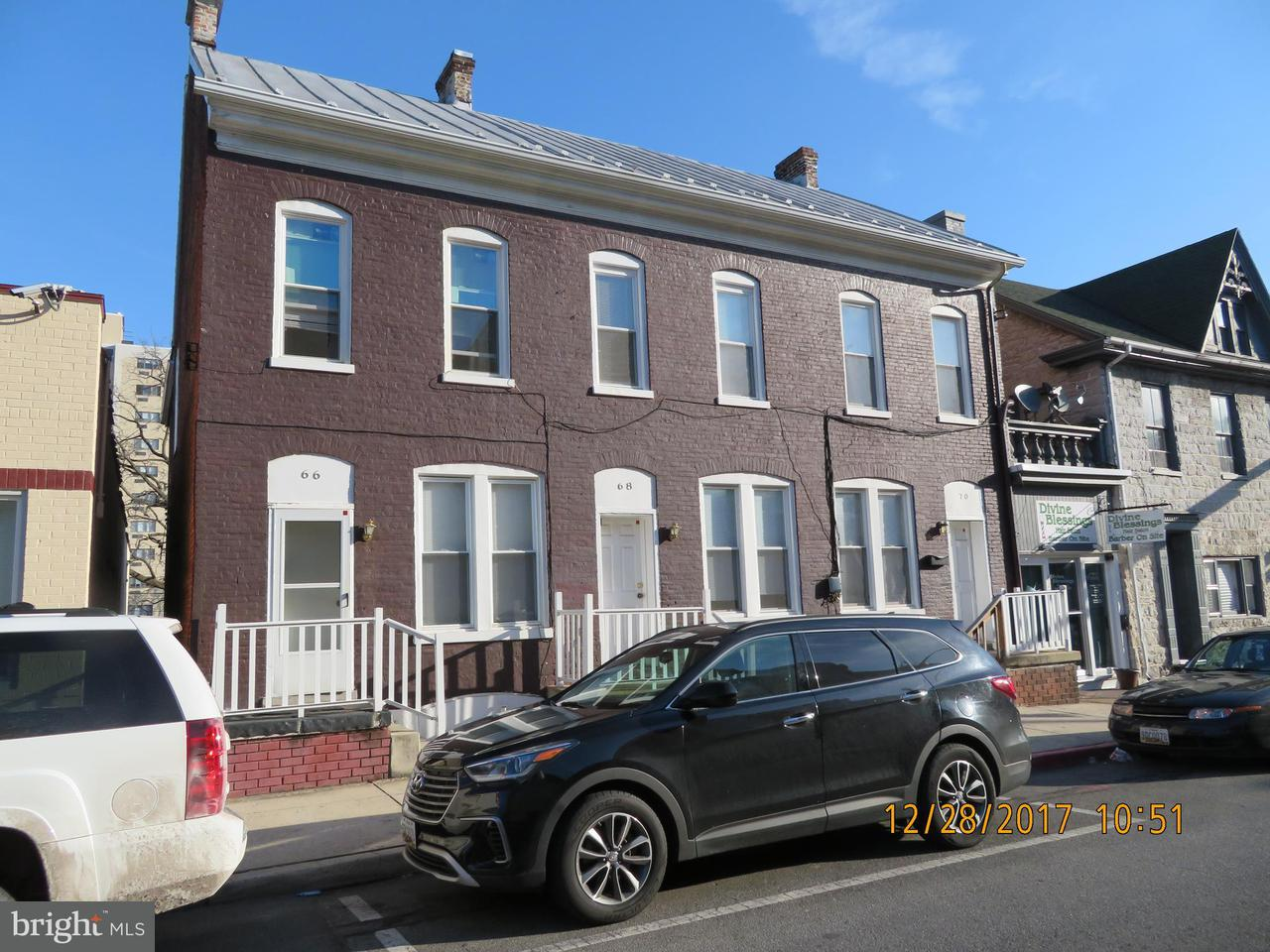 Single Family for Sale at 66 Antietam St Hagerstown, Maryland 21740 United States