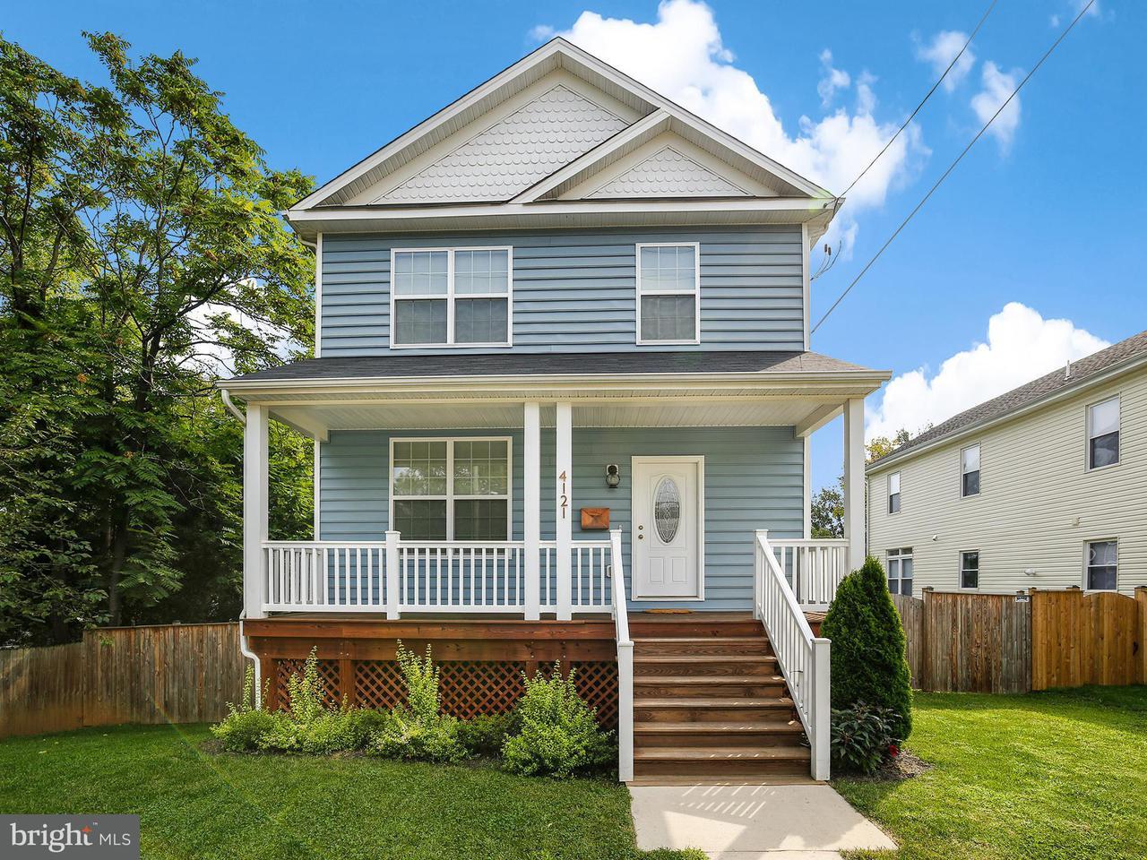 Casa Unifamiliar por un Venta en 4121 34th Street 4121 34th Street Mount Rainier, Maryland 20712 Estados Unidos