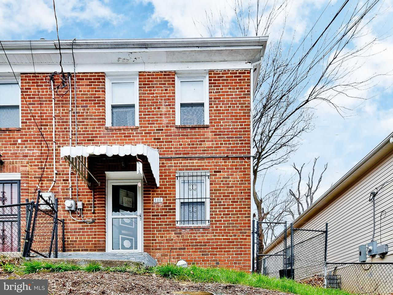 Single Family for Sale at 280 56th Pl NE Washington, District Of Columbia 20019 United States