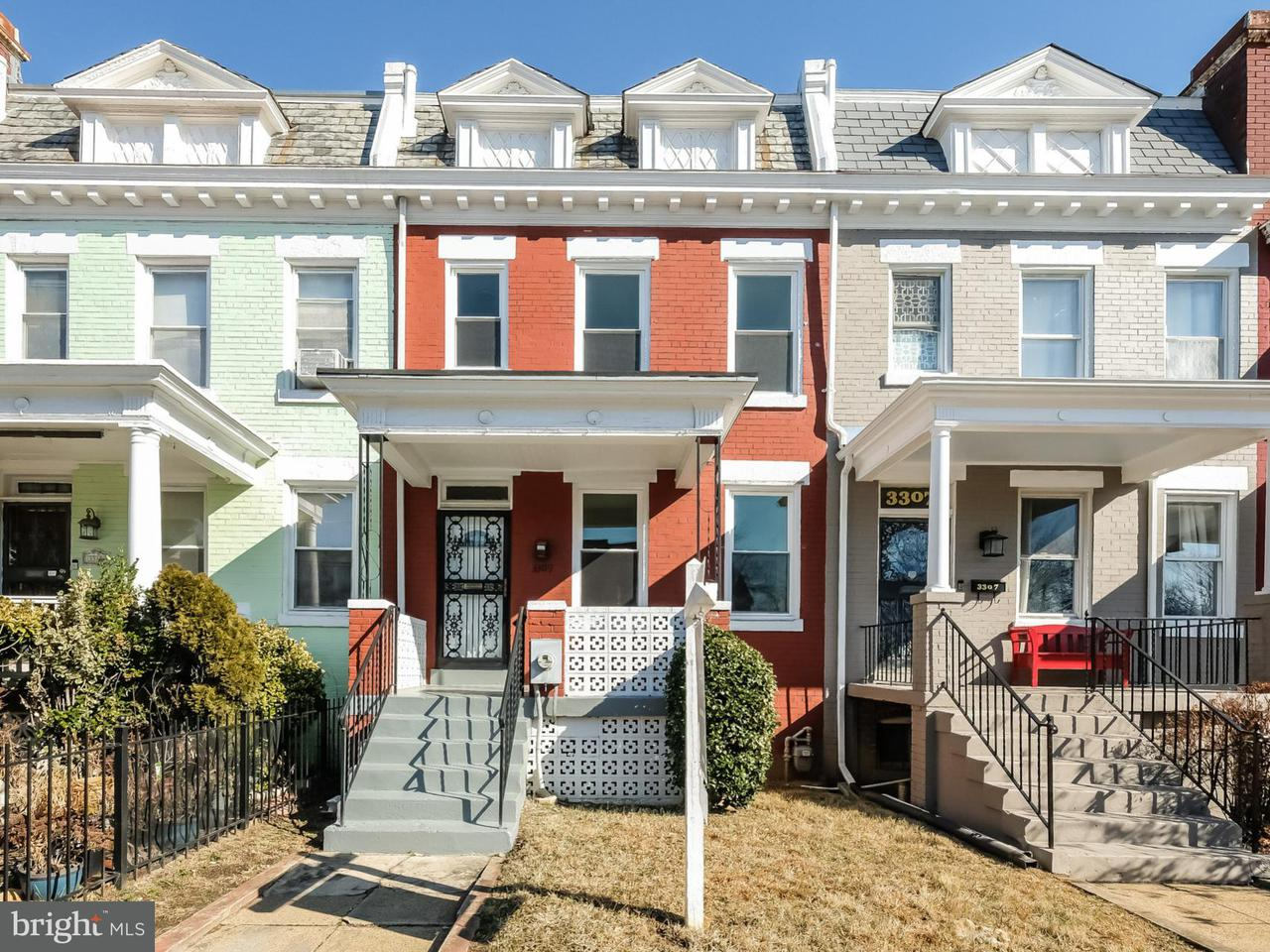 Townhouse for Sale at 3309 Sherman Ave Nw 3309 Sherman Ave Nw Washington, District Of Columbia 20010 United States