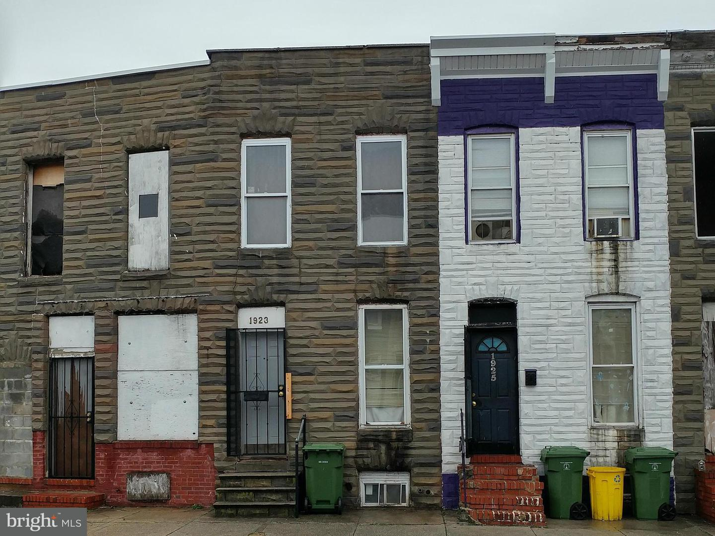 Photo of home for sale at 1923 Ramsay Street, Baltimore MD