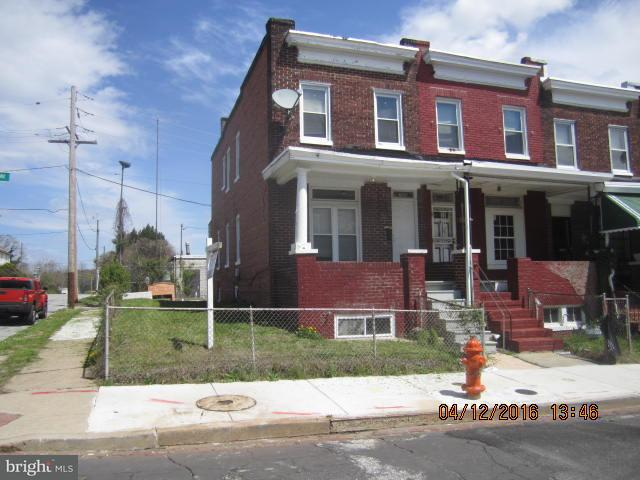 Single Family for Sale at 700 Bartlett Baltimore, Maryland 21218 United States