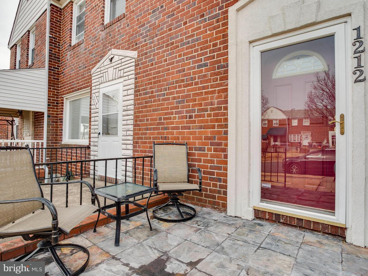 Single Family for Sale at 1212 Delbert Ave Baltimore, Maryland 21222 United States