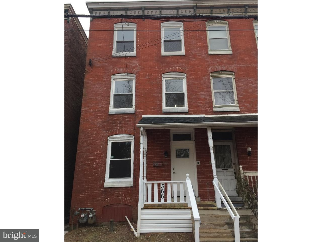 Duplex for Rent at 366 CHESTNUT ST #2 Pottstown, Pennsylvania 19464 United States