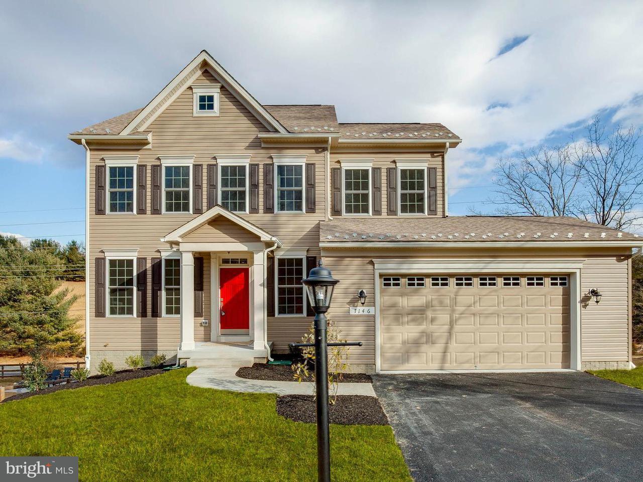 独户住宅 为 销售 在 Highland School Road Highland School Road Myersville, 马里兰州 21773 美国