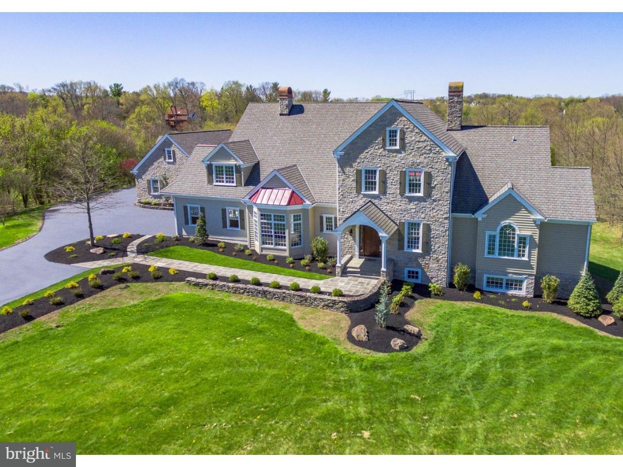 Частный односемейный дом для того Продажа на 3160 DEER CREEK Road Collegeville, Пенсильвания 19426 Соединенные Штаты