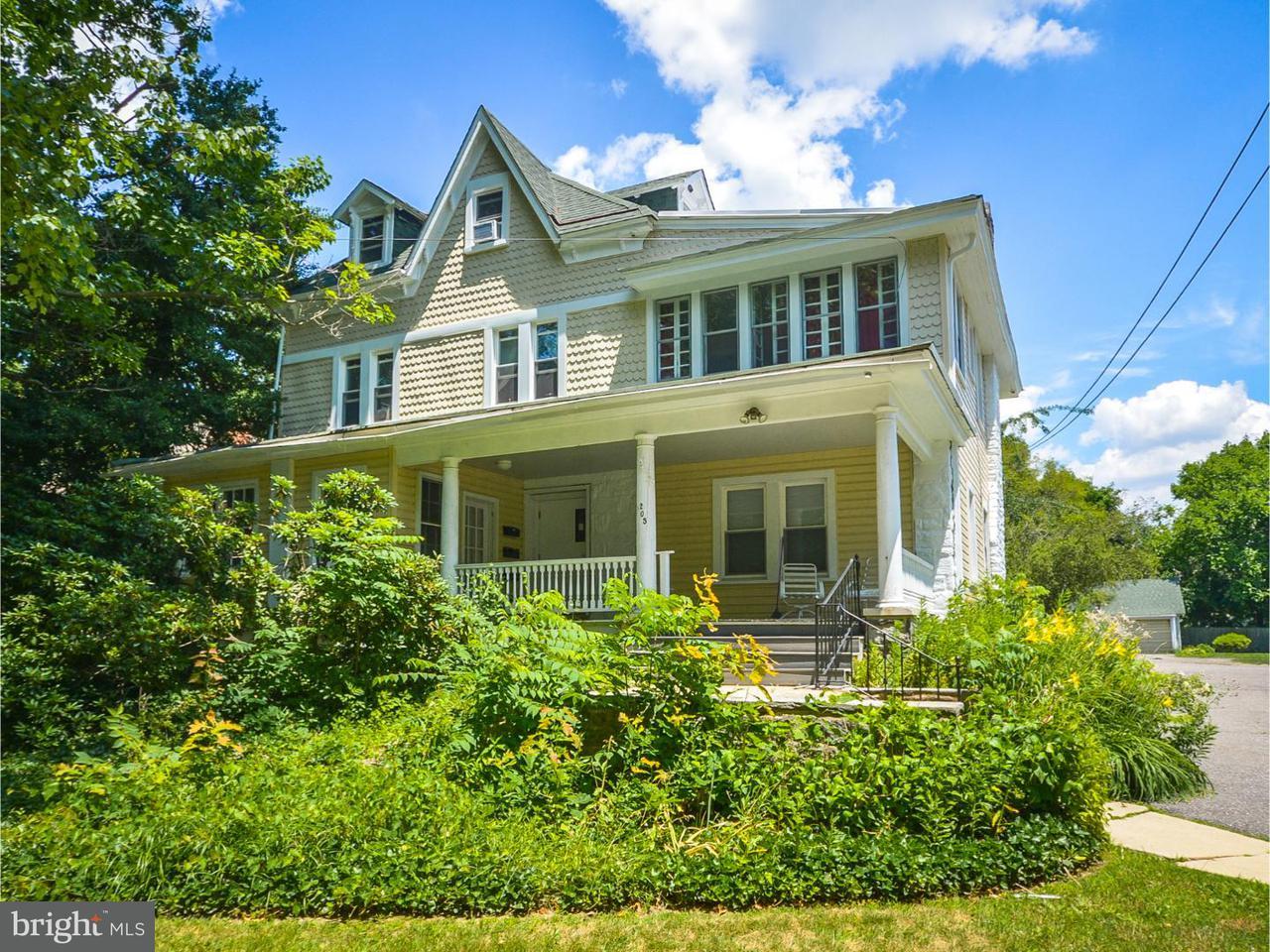 Casa Unifamiliar por un Alquiler en 205 S SWARTHMORE AVE #1 Swarthmore, Pennsylvania 19081 Estados Unidos