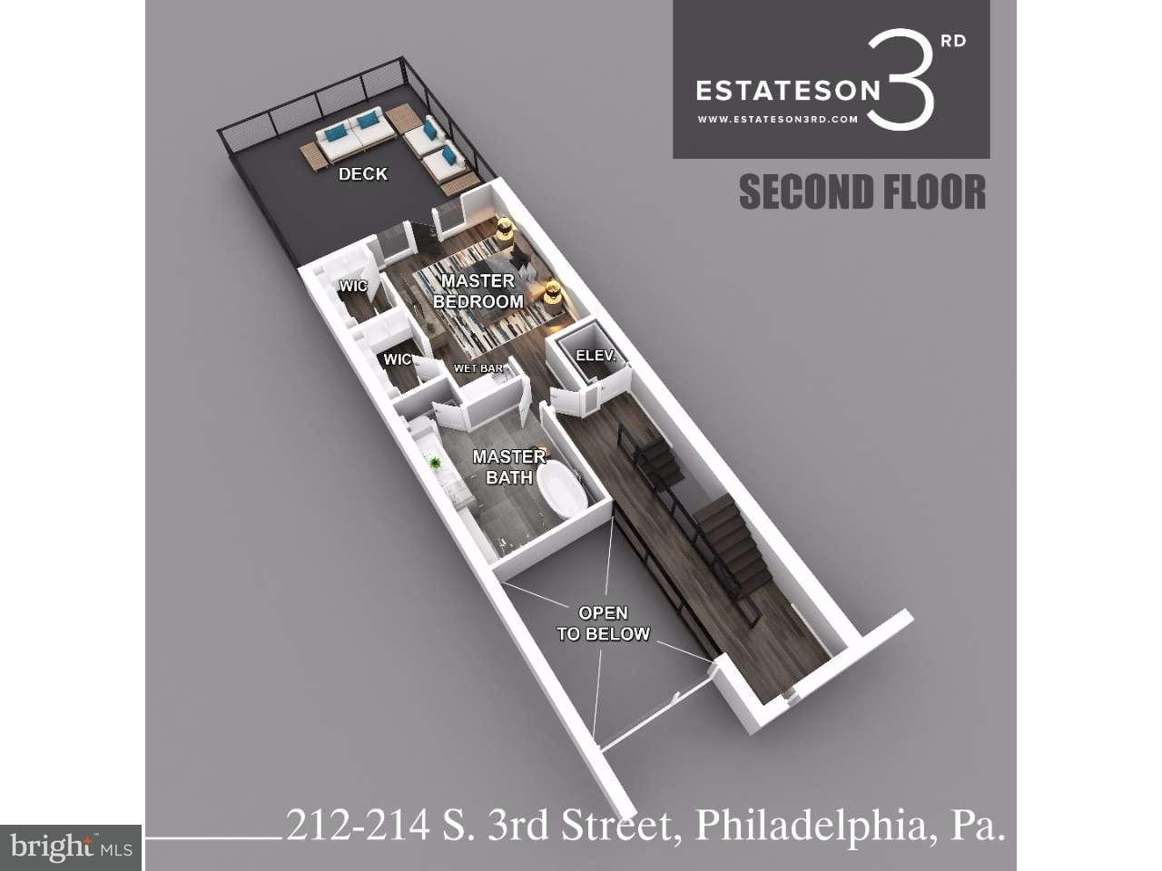 212 S 3RD Philadelphia , PA 19106