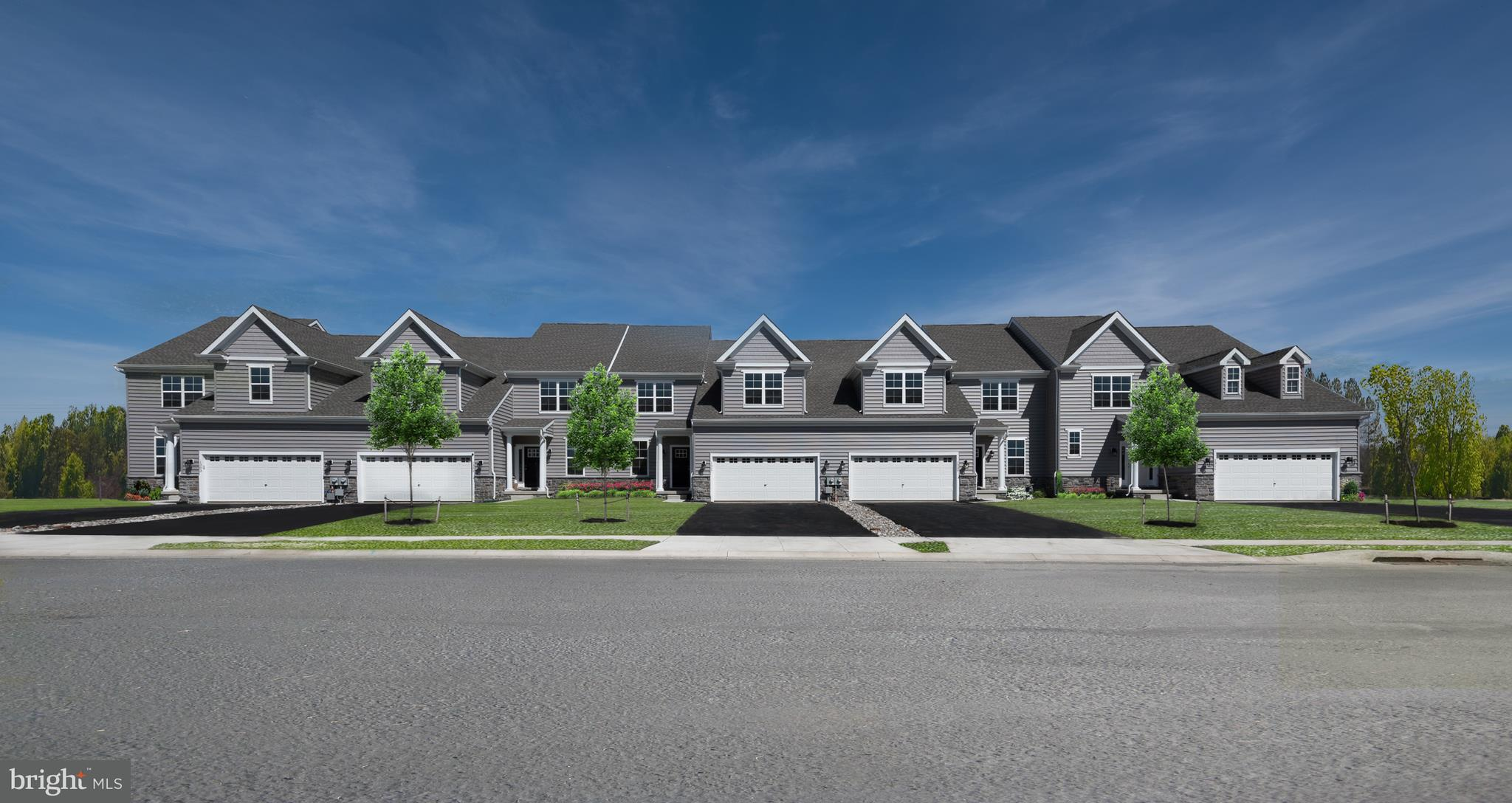 "The Walden-Carriage homes feature 3 bedrooms, 2.5 baths, 2 car garage,  42"" kitchen cabinets, wall to wall carpeting,  spacious open-concept main level, public sewer and water, underground utilities, blacktop driveway, streetlights, sidewalks & curbed streets, located in the esteemed Appoquinimink School District. (Pic of similar model).    We also offer FIRST FLOOR OWNERS BEDROOMS! The Walden has an alternate plan offering main level owners along with 2 bedrooms and a loft upstairs and an optional 3rd bathroom or princess suite! To be built."
