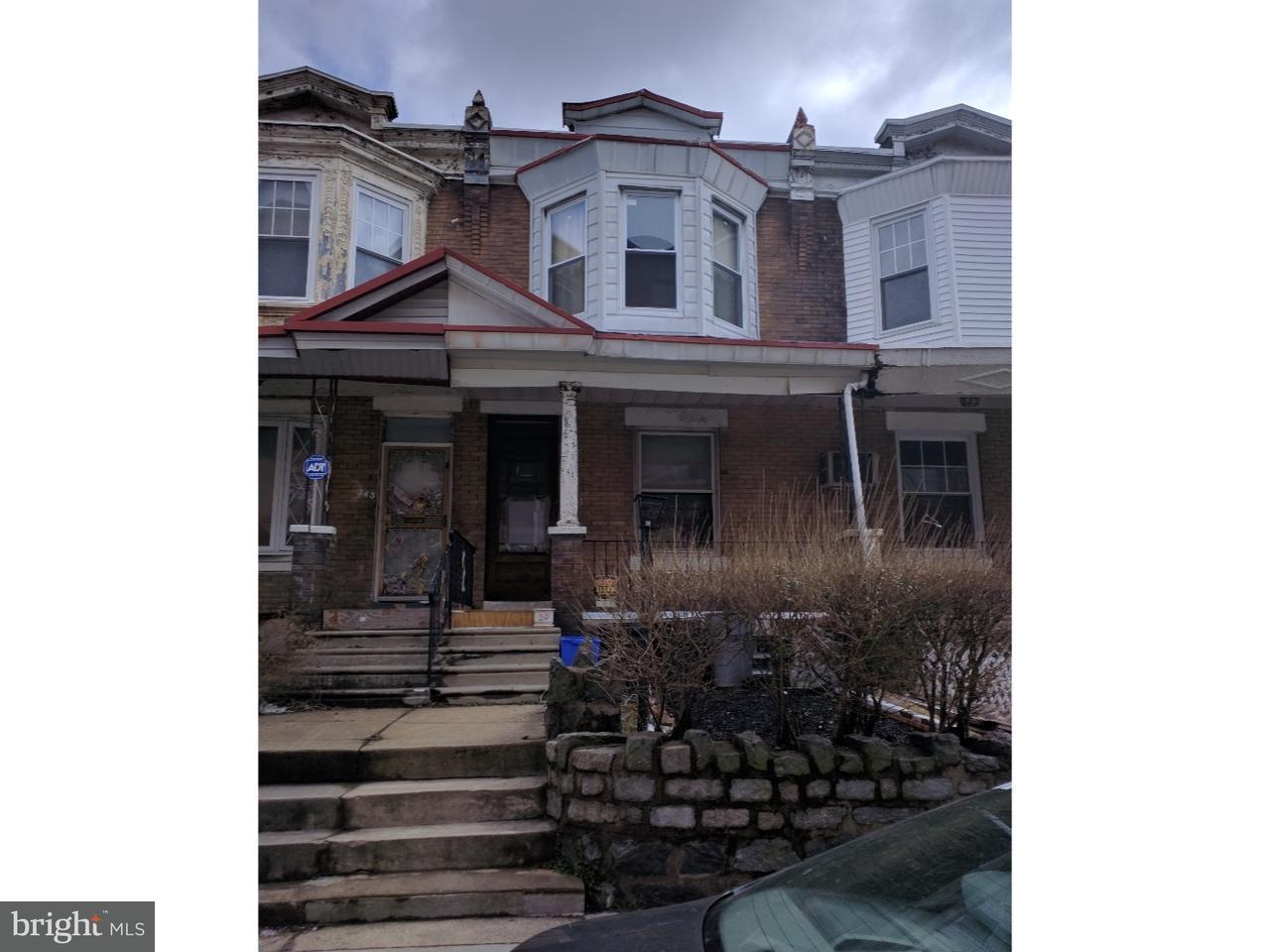 343 N Felton Philadelphia, PA 19139
