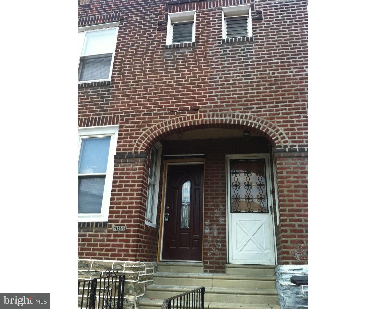 6142 Vandike Street Philadelphia, PA 19135