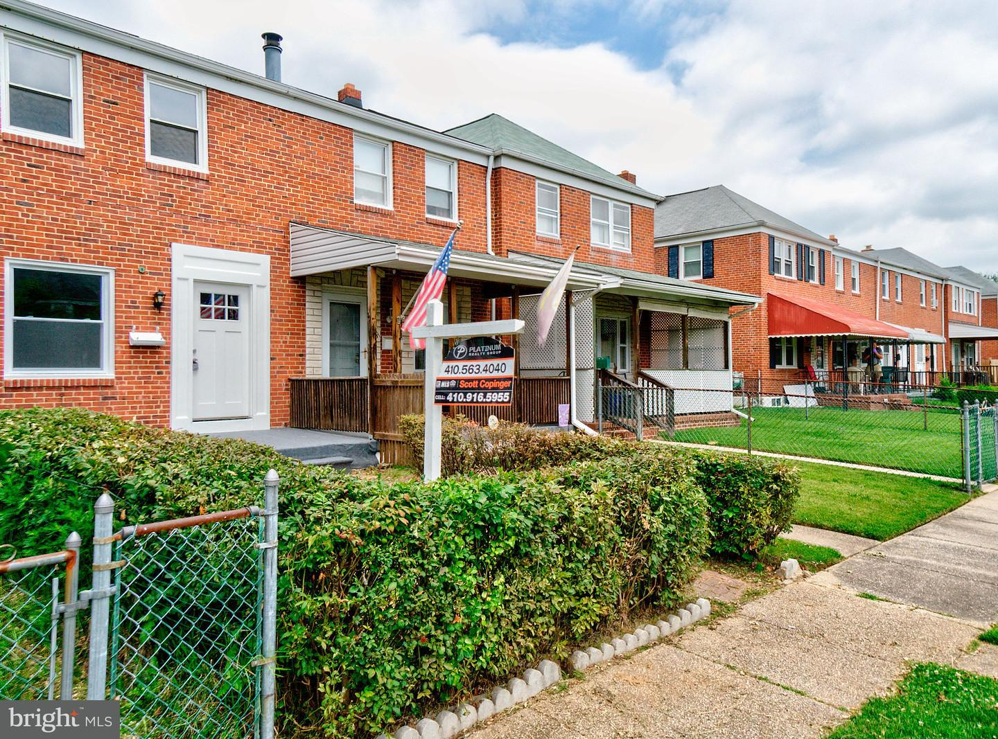 2113 Coralthorn Road Baltimore, MD 21220