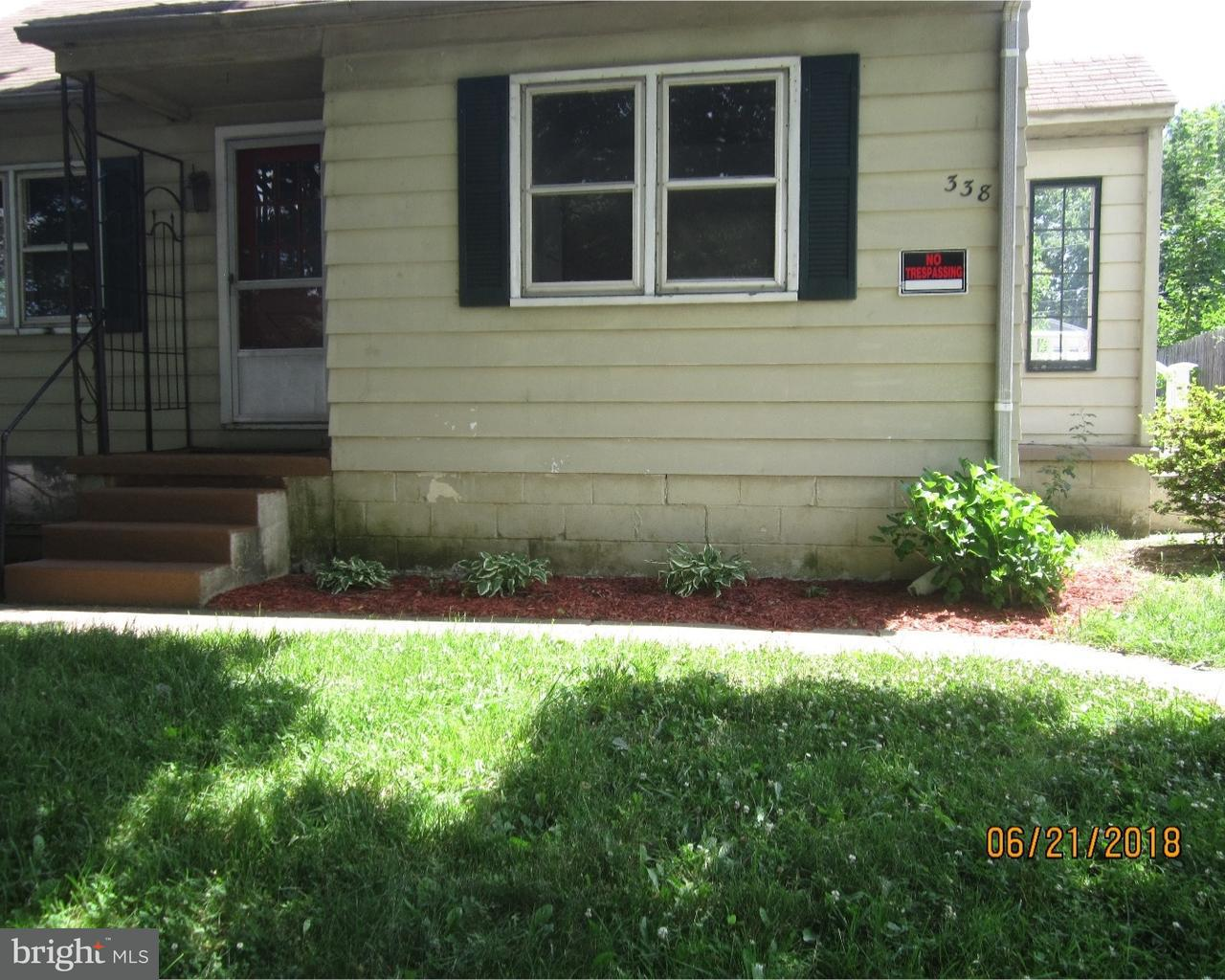 338 MADISON ST, COATESVILLE - Listed at $107,000, COATESVILLE