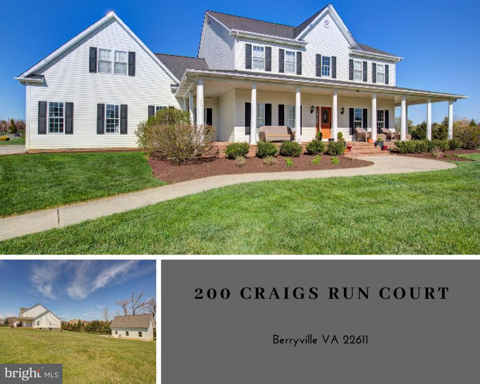200 Craigs Run Court Berryville, VA 22611