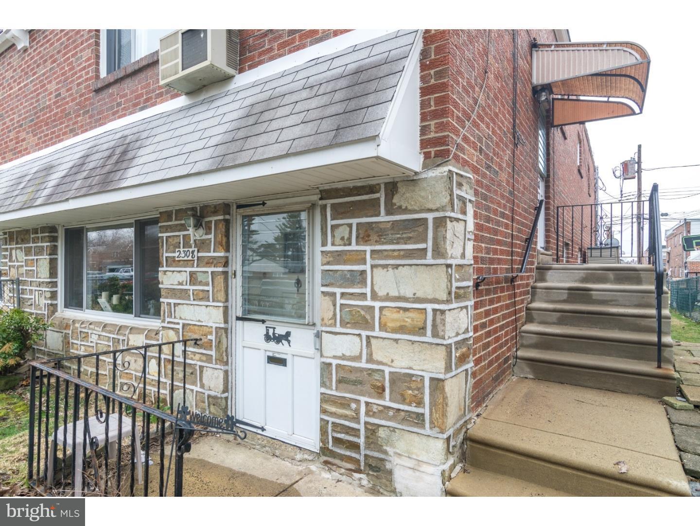 2308 Strahle Street #2FL Philadelphia, PA 19152