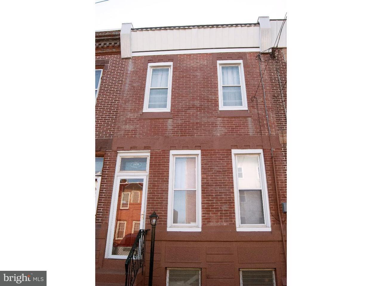 2438 E Huntingdon Philadelphia , PA 19125